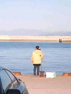 釣りを誘ってくれた女性を写メりました!