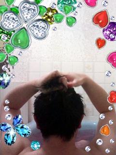 お風呂は暑い×2