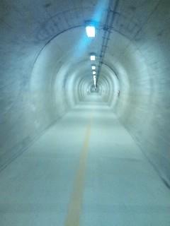 お尻とトンネル。