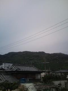 今日の愛媛県の空模様。
