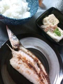 豆腐とお魚。