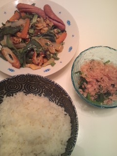 野菜炒め!
