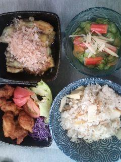 お昼ごはんでござひます。