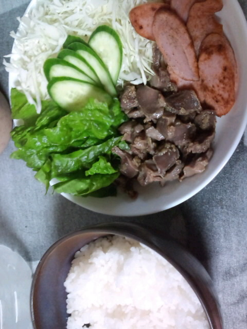 お昼のディナー☆