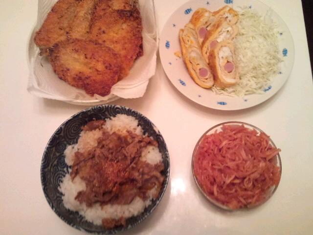 今夜のディナー♪☆