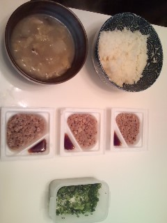 朝昼兼用ご飯ッ!