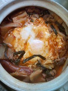 キムチ鍋(1)