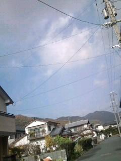愛媛県の空と俺の空と。