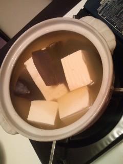 ひとりで鍋ってます♪