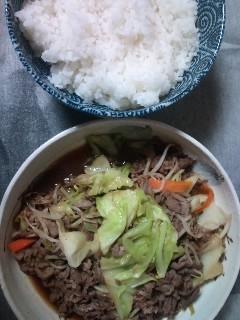晩ご飯ぬ〜ん!