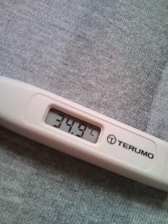 34.9℃