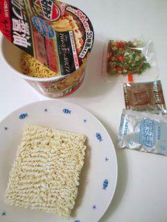 お昼の食材!?