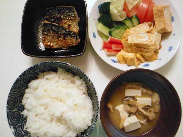 晩ご飯ですけど…今日は暑い!