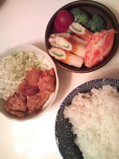 夜食(晩ごはん)☆