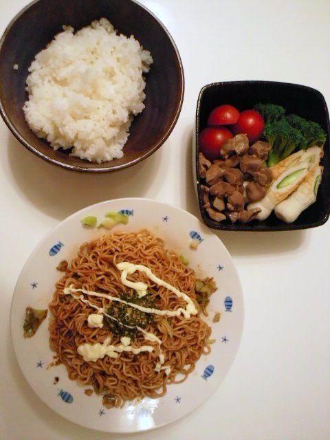 夜食(晩ごはん)!