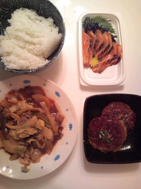 金曜日のディナー☆