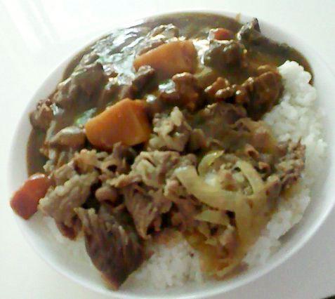 牛丼&カレー