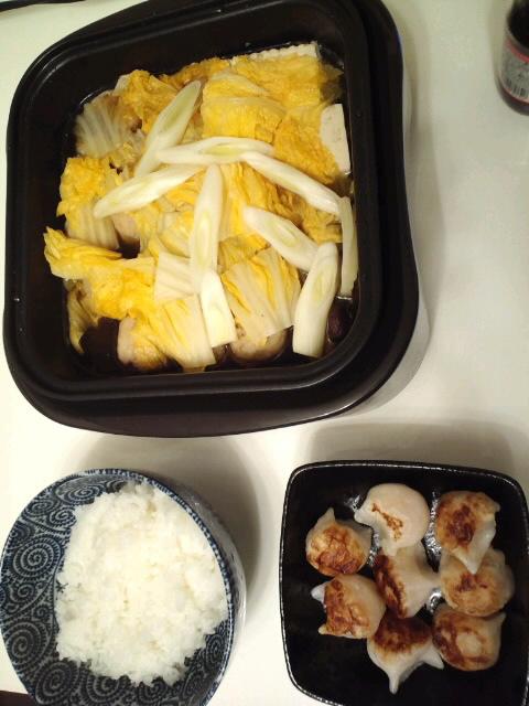 冬は鍋料理に限る!