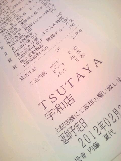(;`皿´)TSUTAYAに怒り!