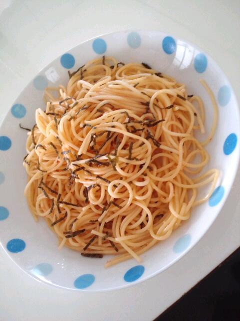 たらこスパゲティ♪
