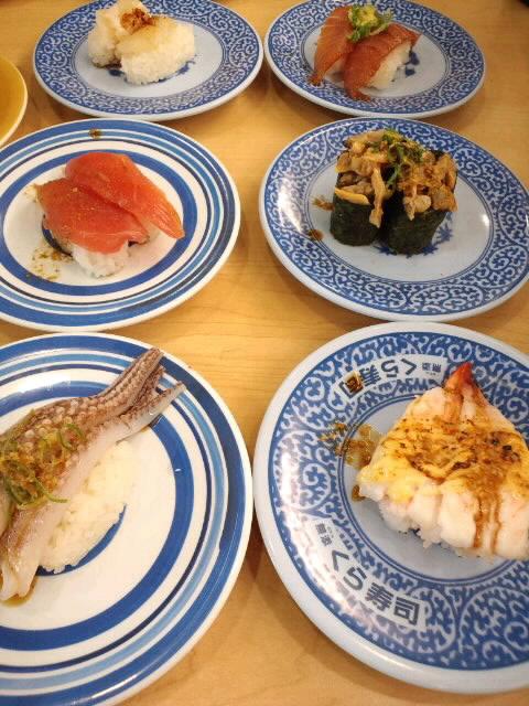 (≧∇≦)くら寿司♪