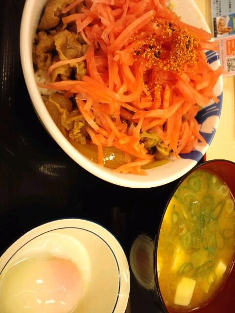 牛めし大+豚汁セット/松屋
